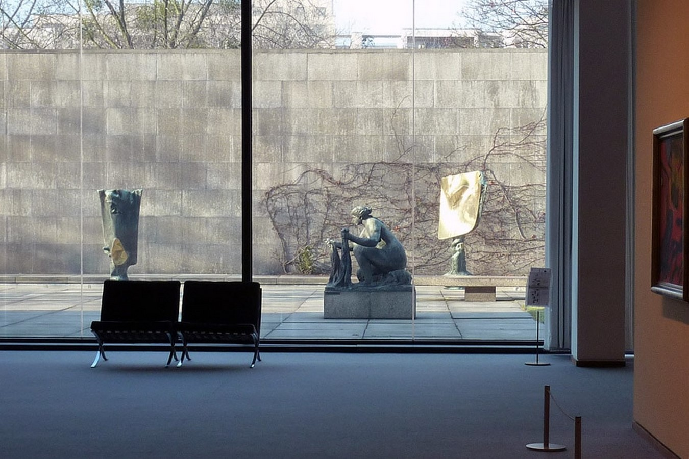 Mies Van der Rohe's Renovated New National Gallery in Berlin revealed through images by David Chipperfield - Sheet7