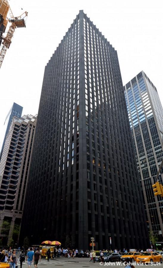 The CBS Building by Eero Saarinen: The Black Rock - Sheet1