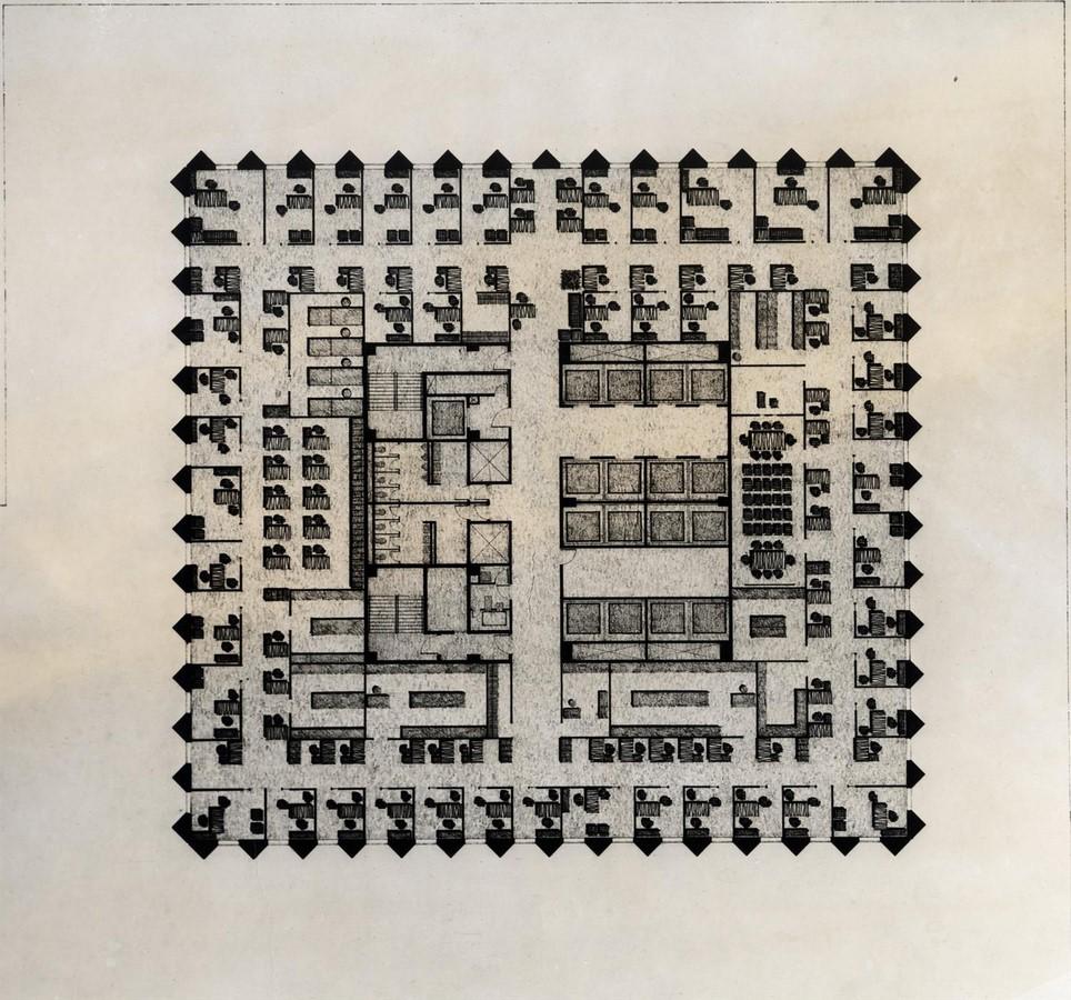 The CBS Building by Eero Saarinen: The Black Rock - Sheet4