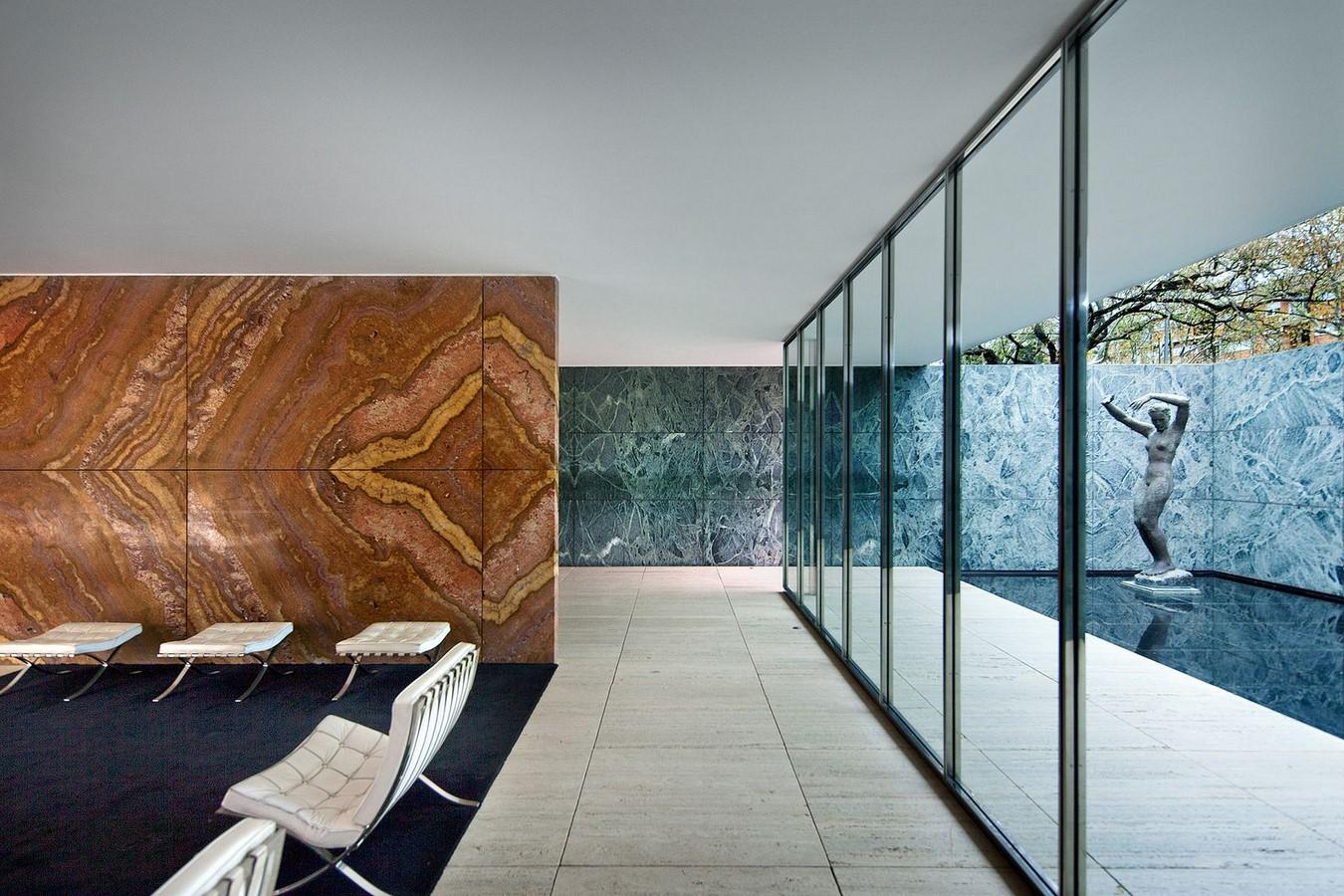 Barcelona Pavilion, Barcelona Spain by Ludwig Mies Van der Rohe -Sheet2