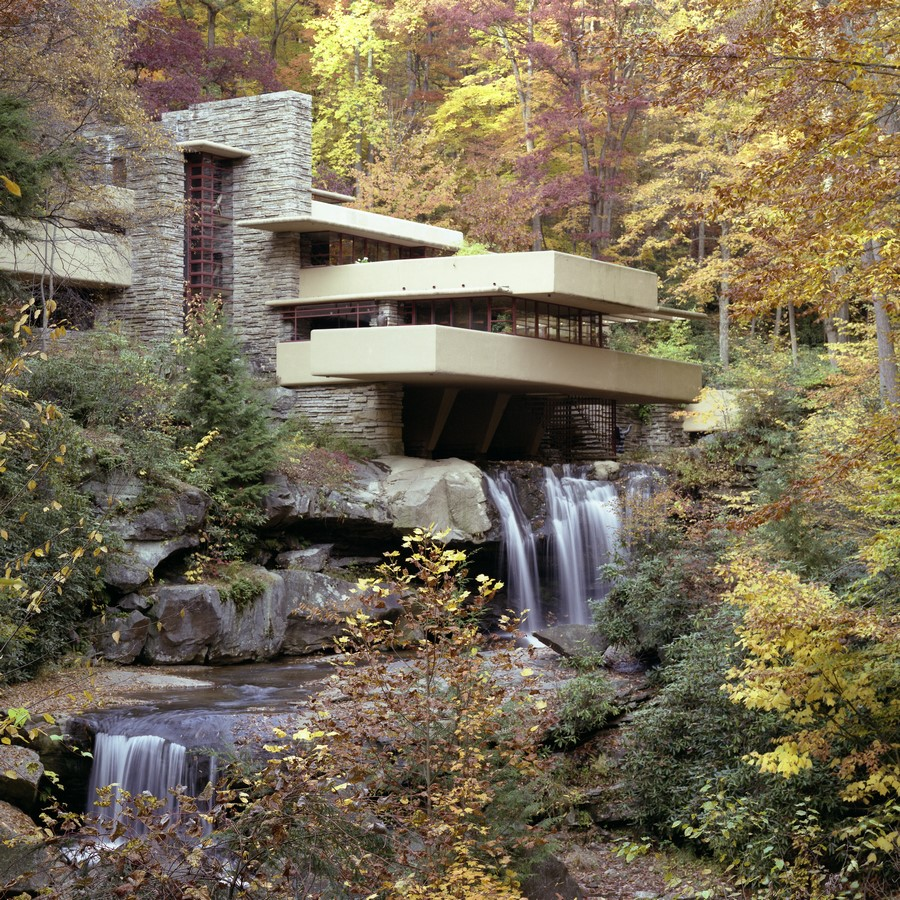 Falling Waters, Pennsylvania, USA by Frank Lloyd Wright - Sheet1