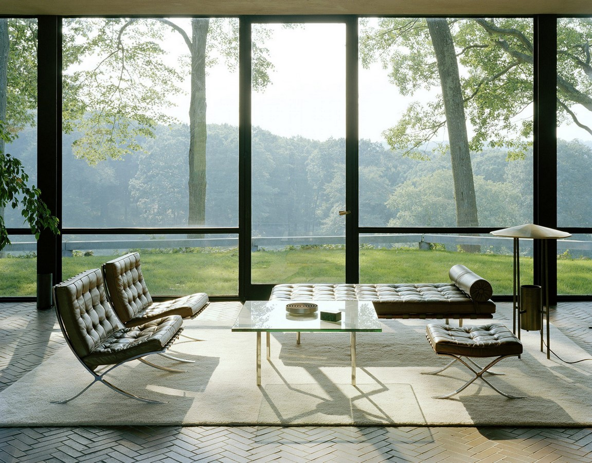 Glass House, Connecticut, USA by Philip Johnson - Sheet2