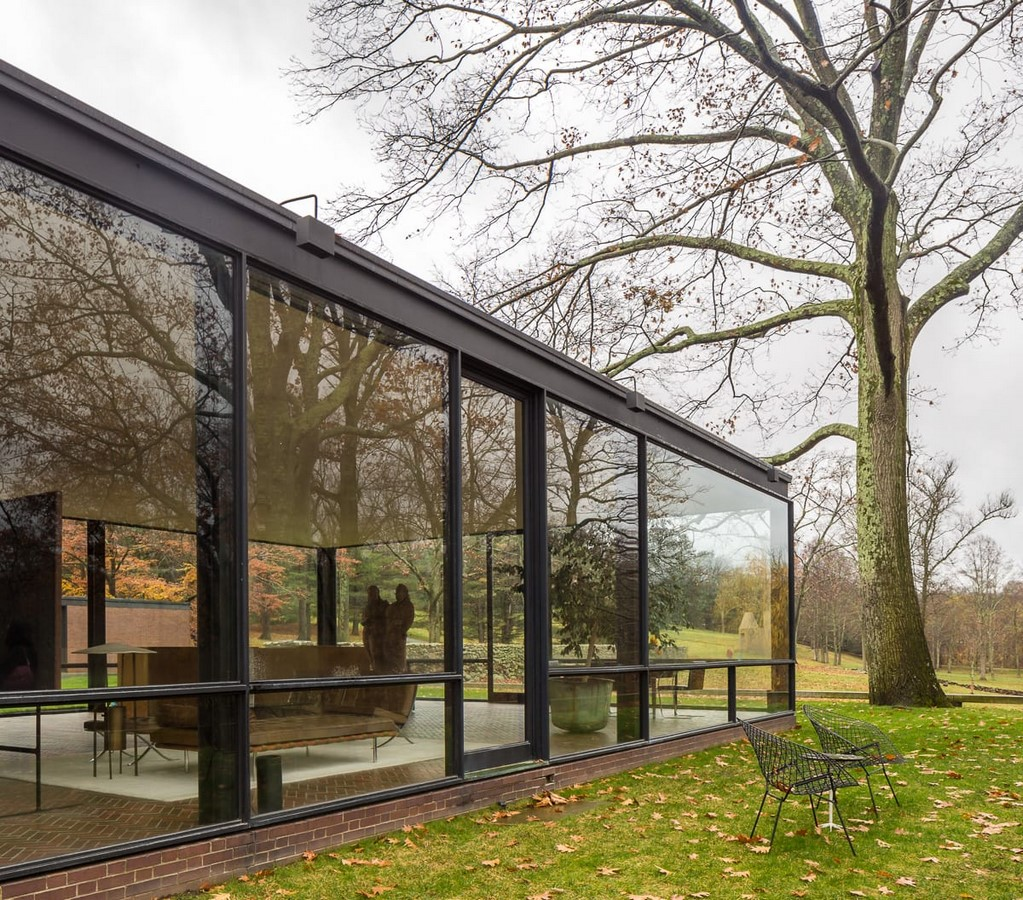 Glass House, Connecticut, USA by Philip Johnson - Sheet3