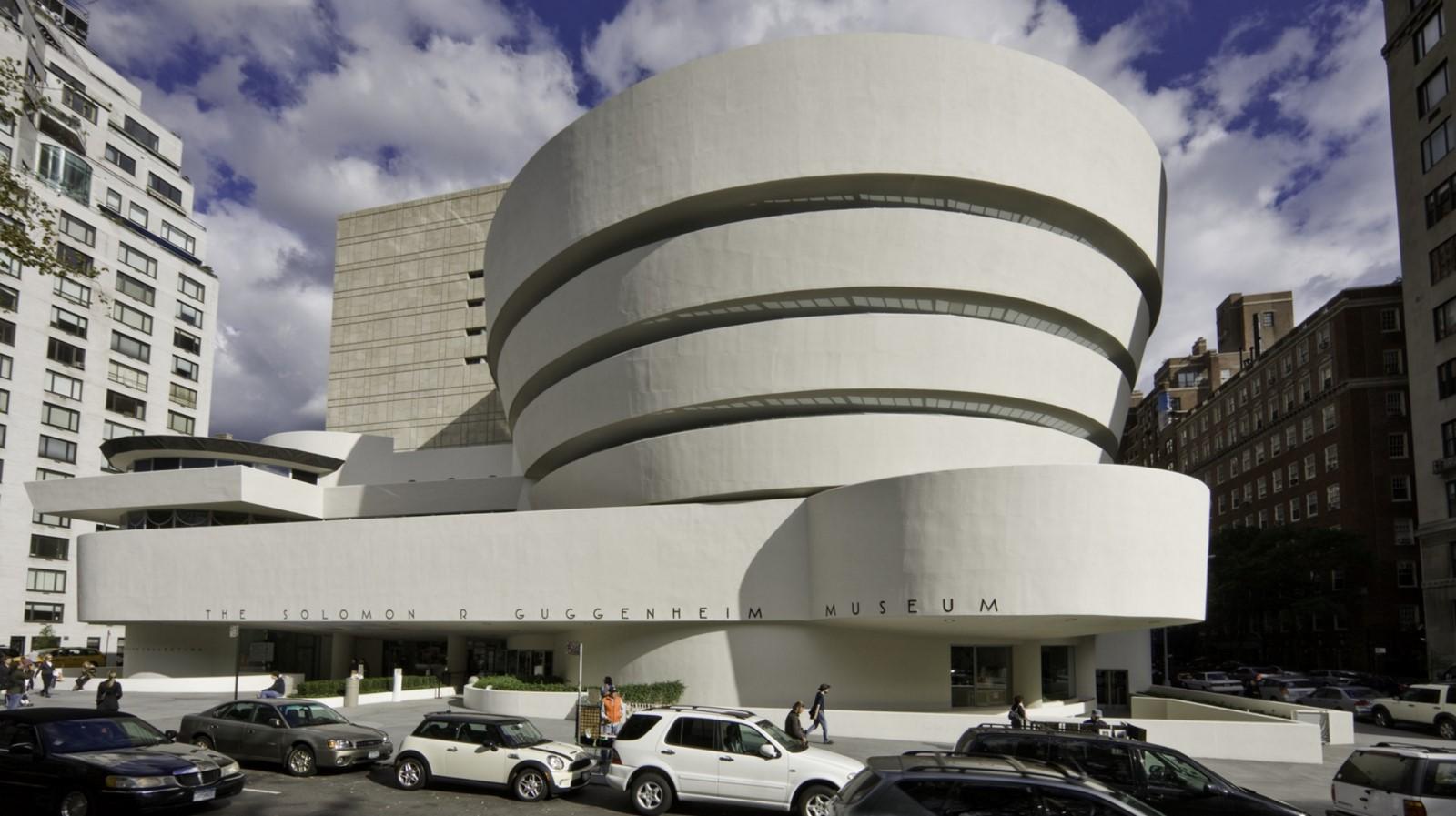Guggenheim Museum, Manhattan, New York by Frank Lloyd Wright - Sheet1