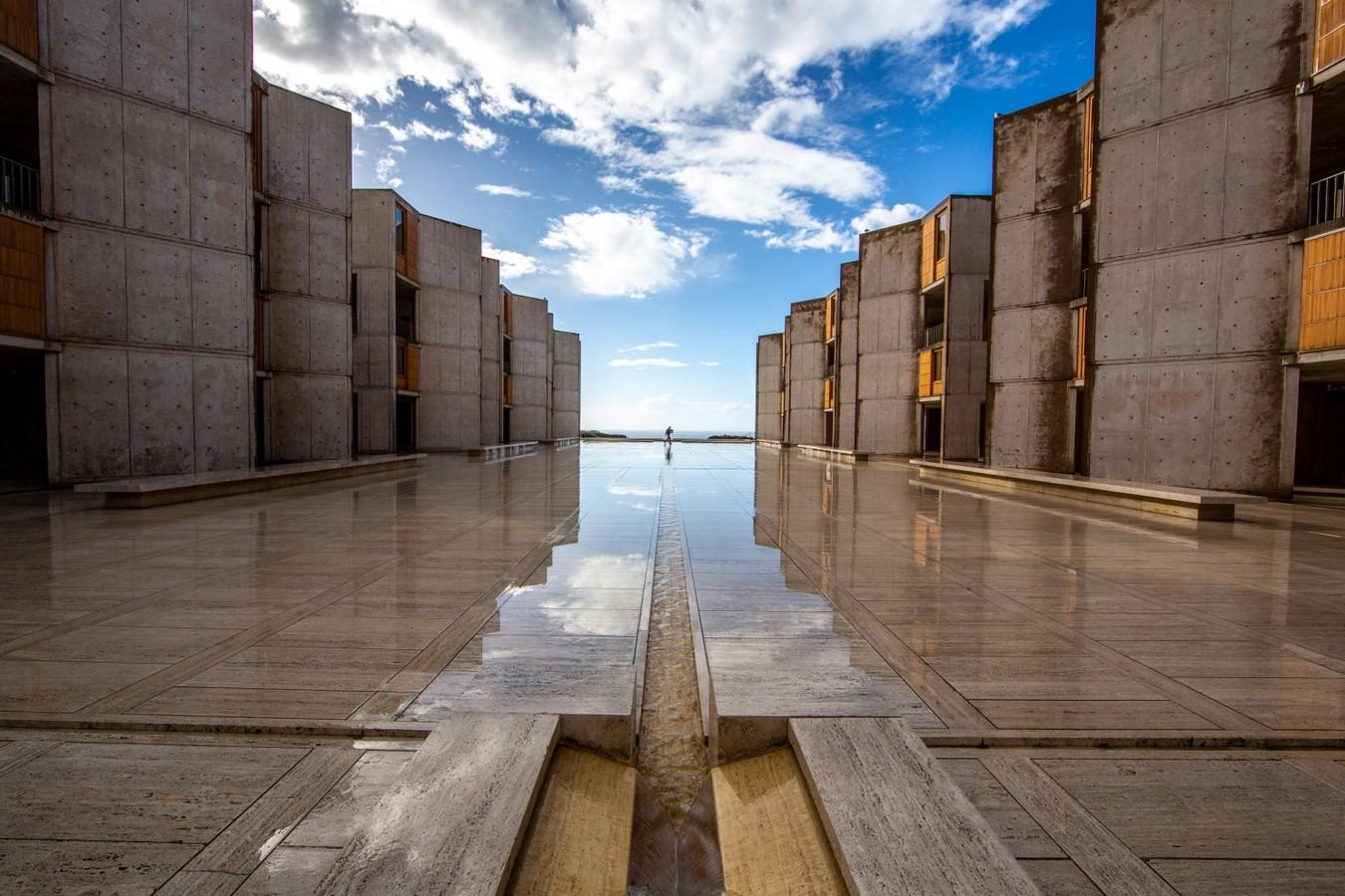 Salk Institute for Biological Sciences, San Diego, California, USA by Louis Kahn - Sheet1