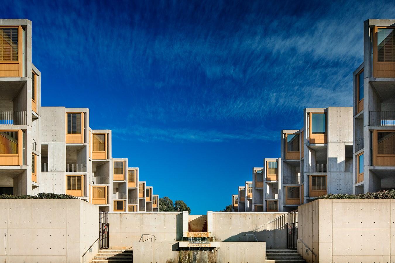Salk Institute for Biological Sciences, San Diego, California, USA by Louis Kahn - Sheet4