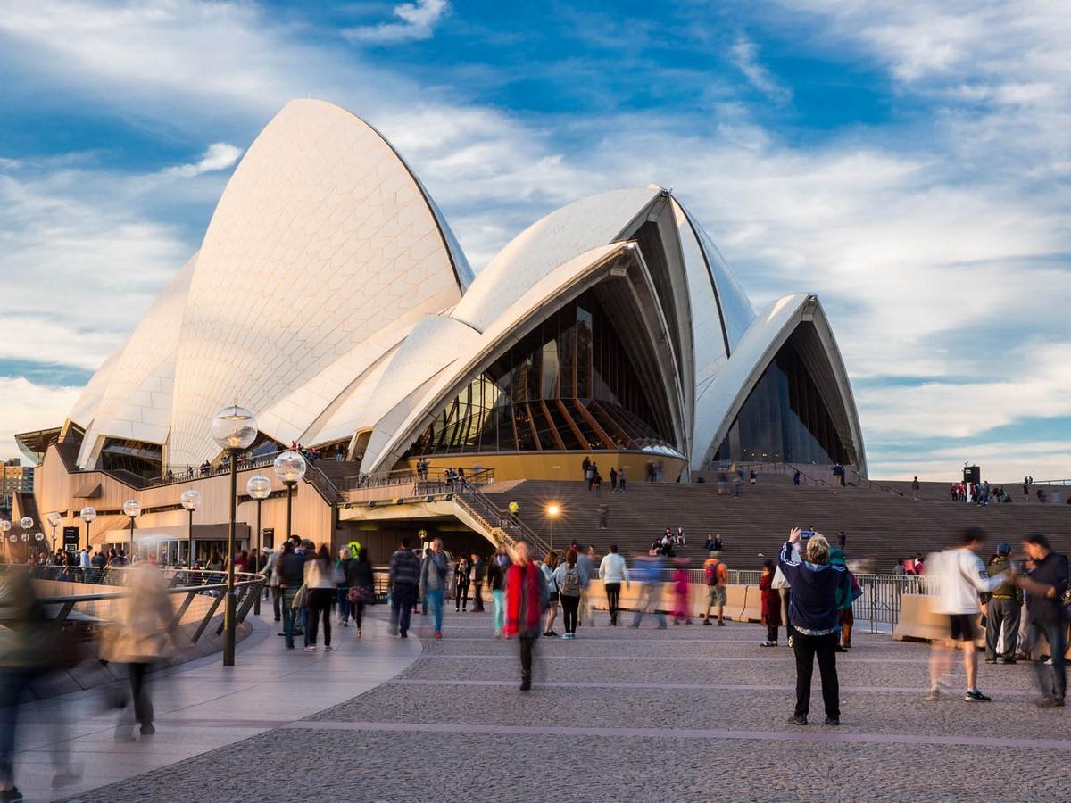 Sydney Opera House, Sydney, Australia by Jorn Utzon - Sheet2