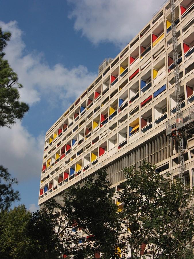 Unite d'habitation, Marseille, France by Le Corbusier - Sheet1