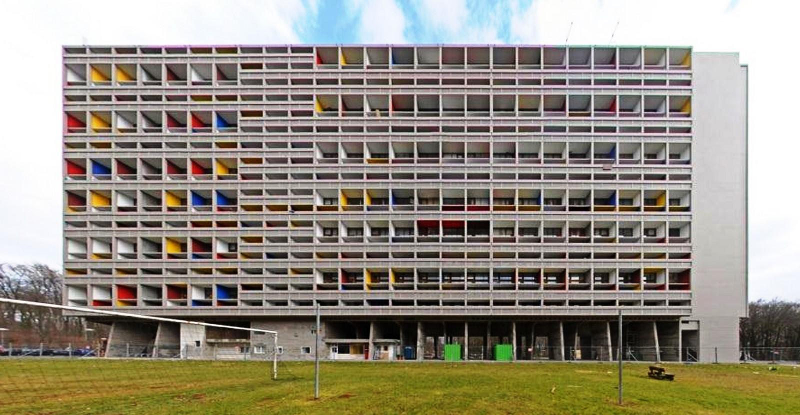 Unite d'habitation, Marseille, France by Le Corbusier - Sheet2