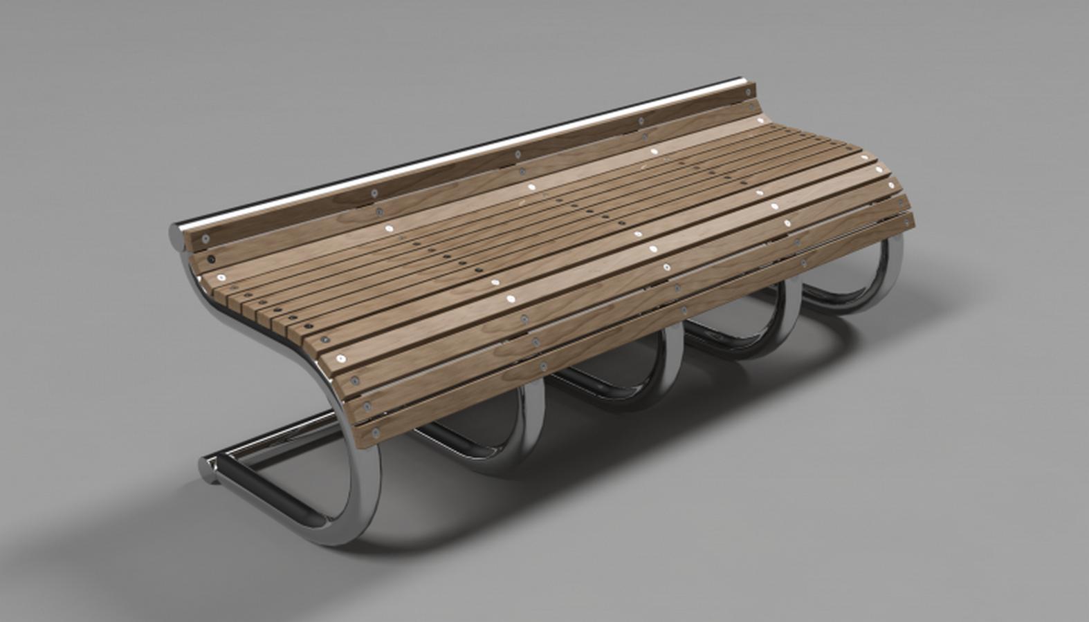 Concept Street Bench