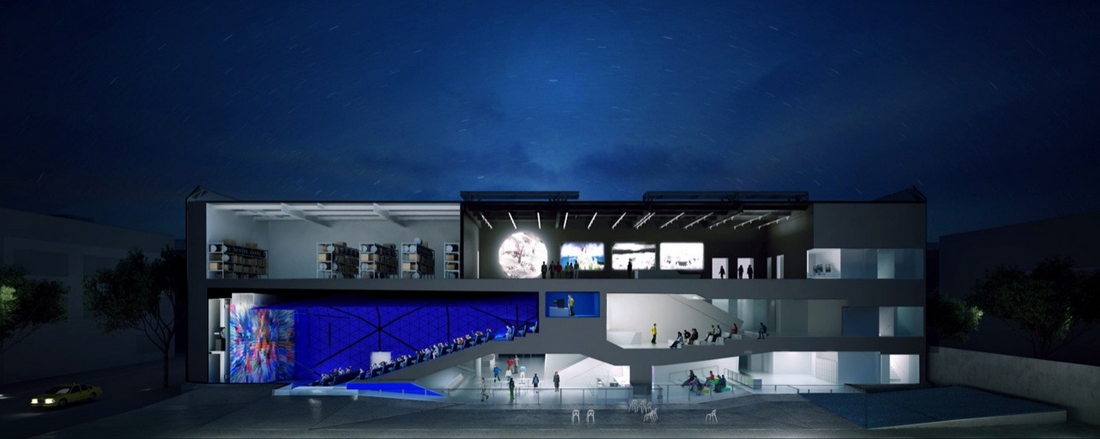 Museum of the Moving Image by Leeser Architecture: Traveling with the pictures - Sheet19