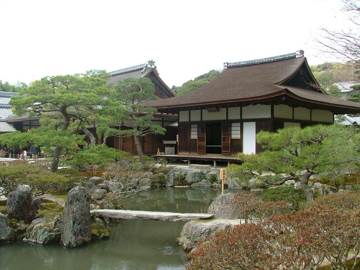 Hill and Pond Garden-Ginkaku-ji, Kyoto - Sheet1