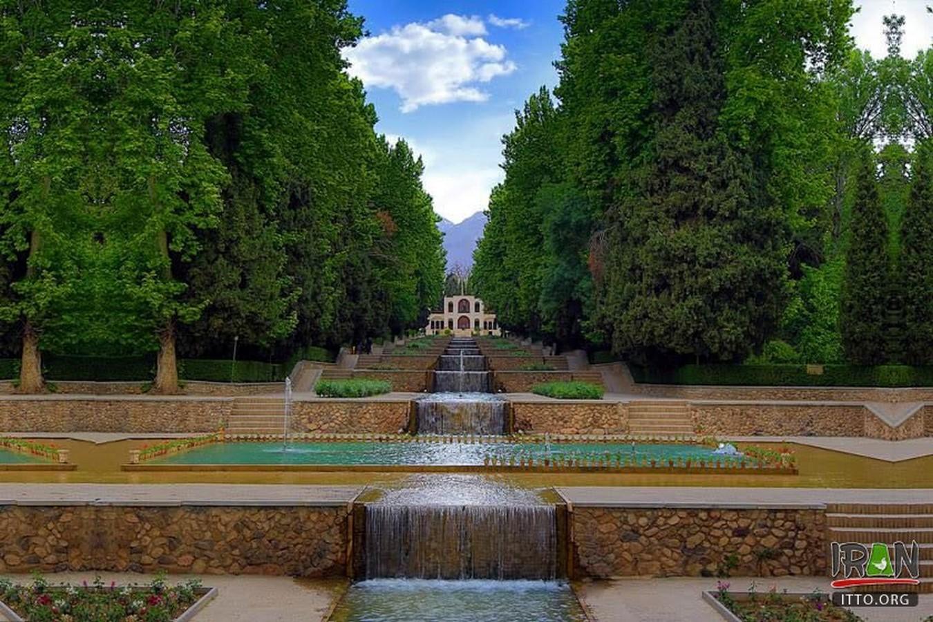 Shahzadeh-Mahan Garden. Kerman - Sheet2