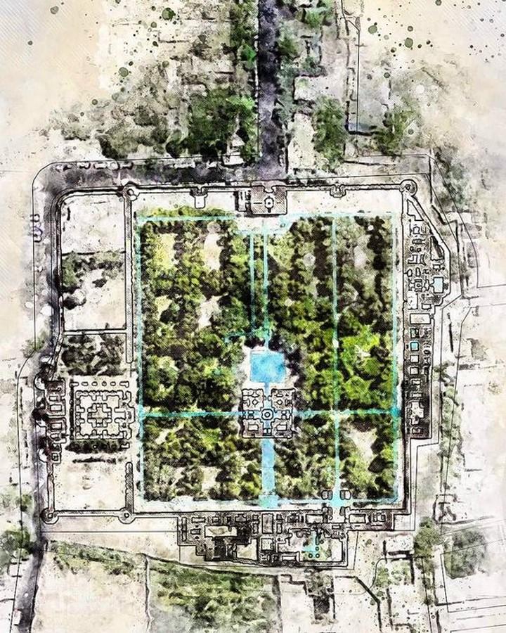 Fin Garden, Kashan - Sheet3