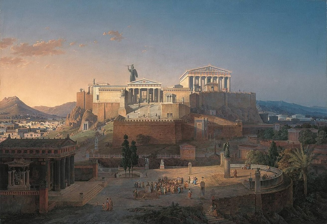 The influence of art in the history of architecture