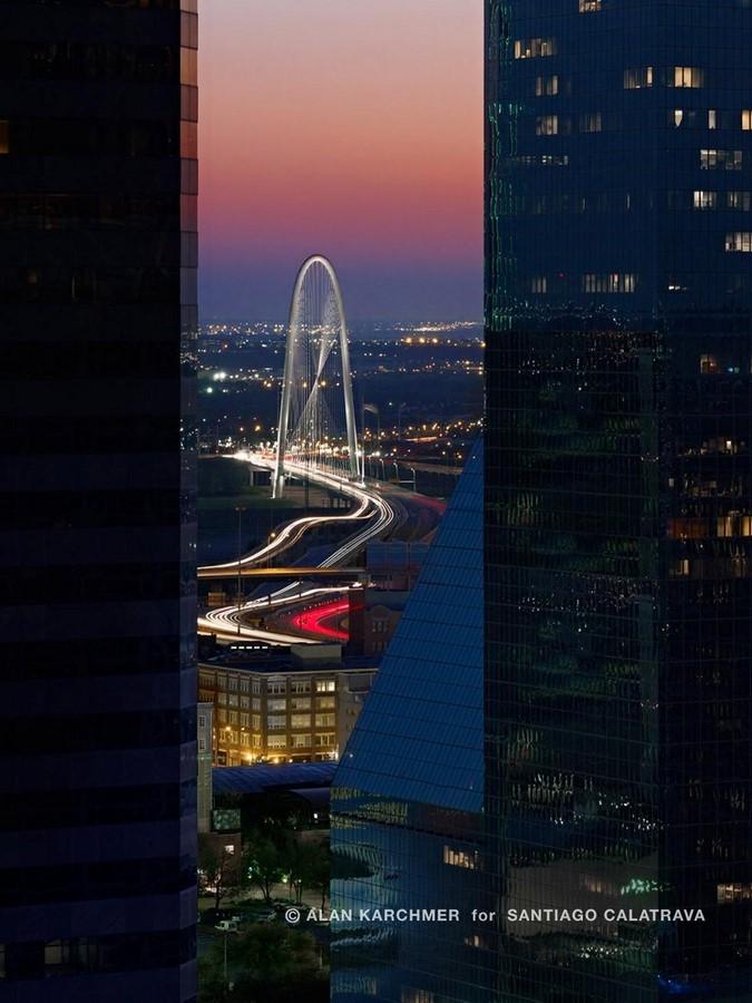 Margaret Hunt Hill Bridge / Santiago Calatrava - Sheet3