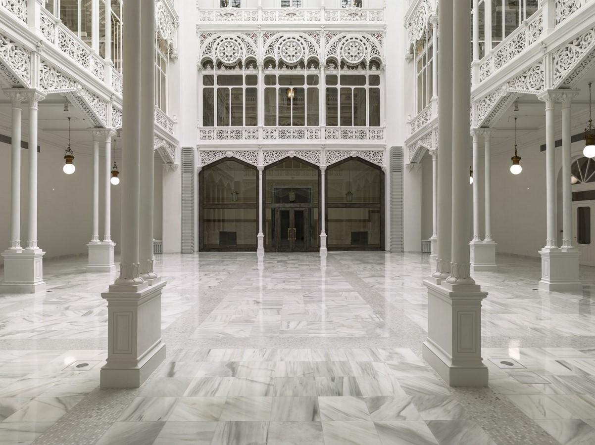 Banco de España Library Restoration, Madrid