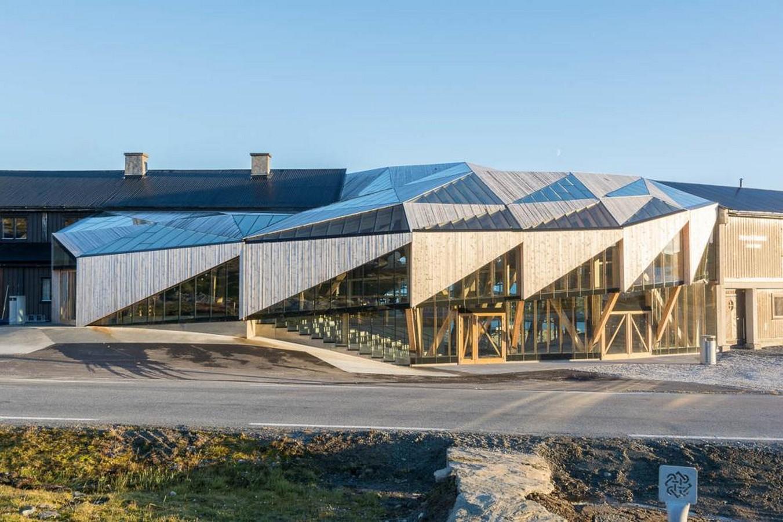 New entrance building to Sognefjellshytta mountain hotel - Sheet1
