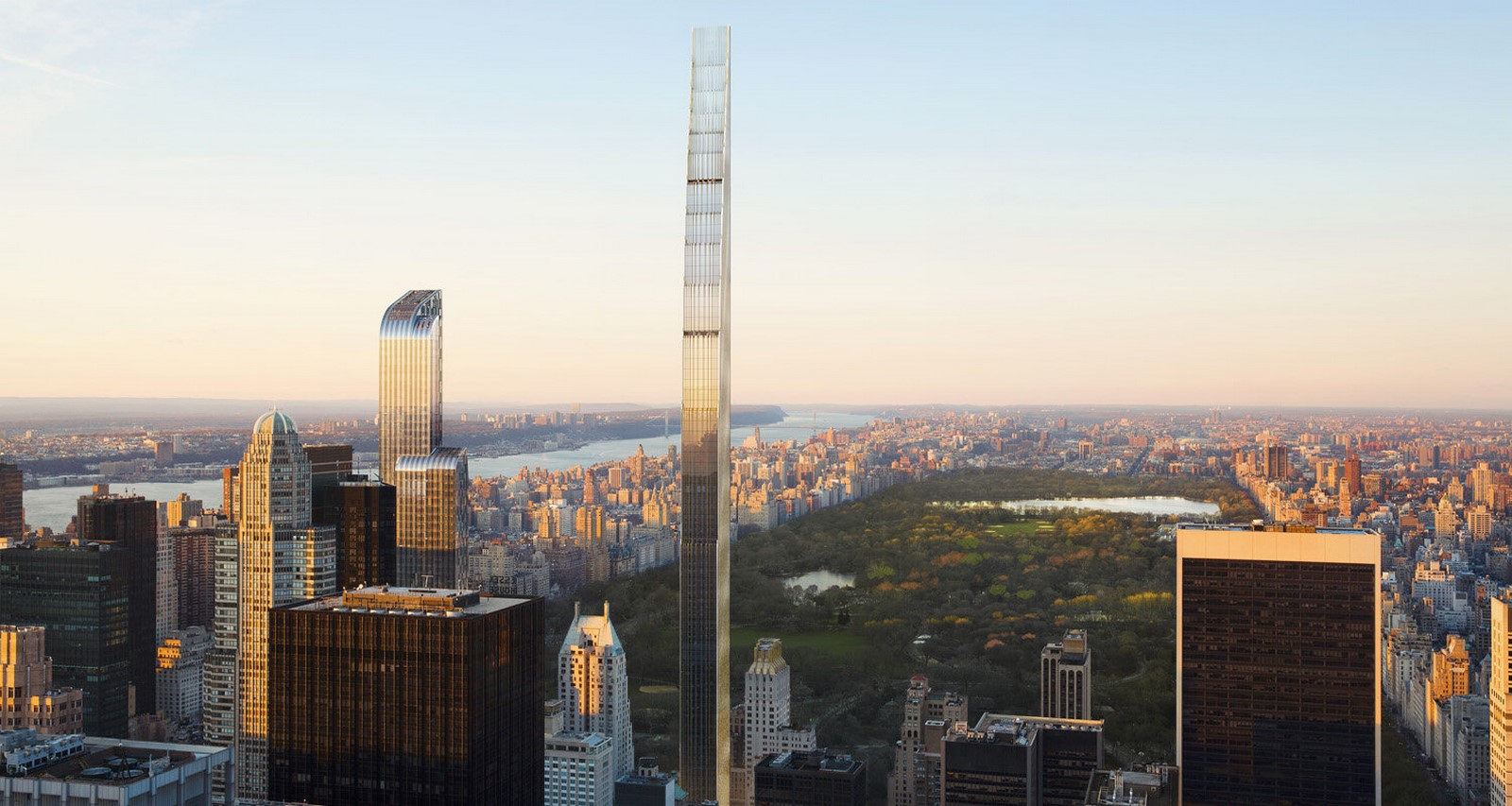 Steinway Tower by SHoP Architects: The World's Thinnest Skyscraper - Sheet1