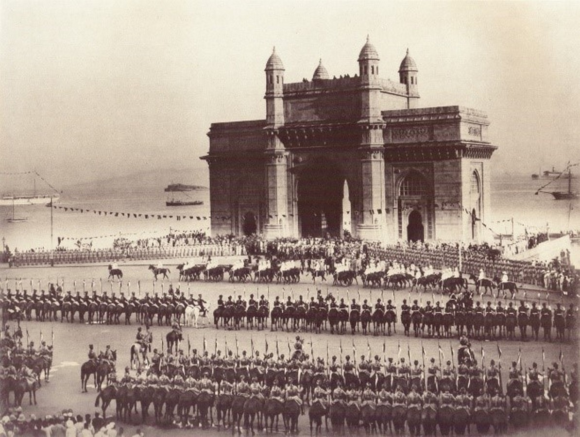 Gateway of India by George Wittet: The Triumphal arch of India - Sheet3