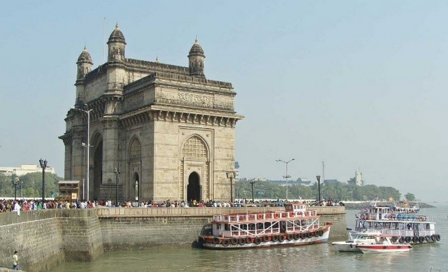 Gateway of India by George Wittet: The Triumphal arch of India - Sheet9