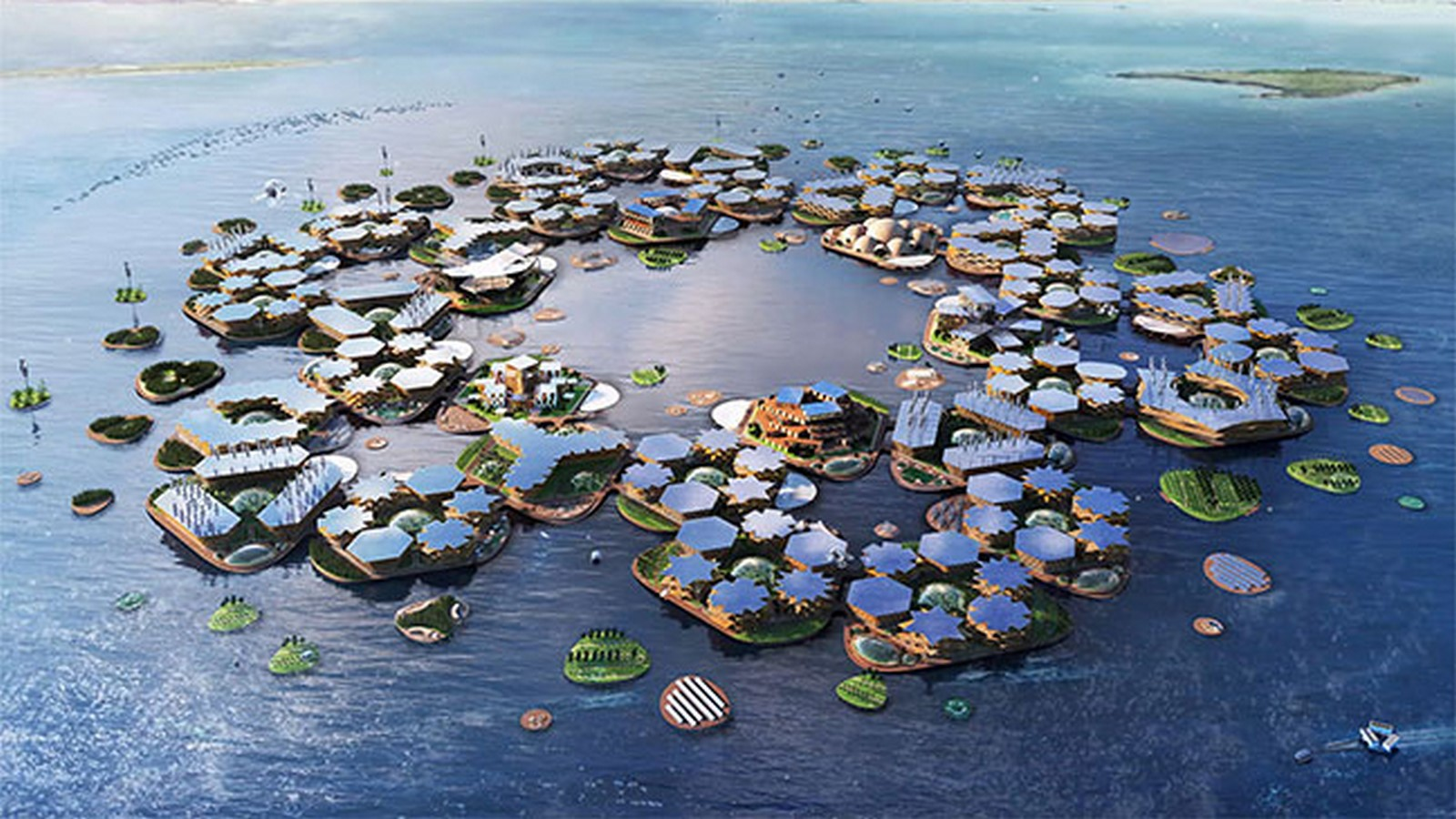 Why 'Oceanix City' by Bjarke Ingels can be considered as a milestone of futuristic architecture - Sheet3