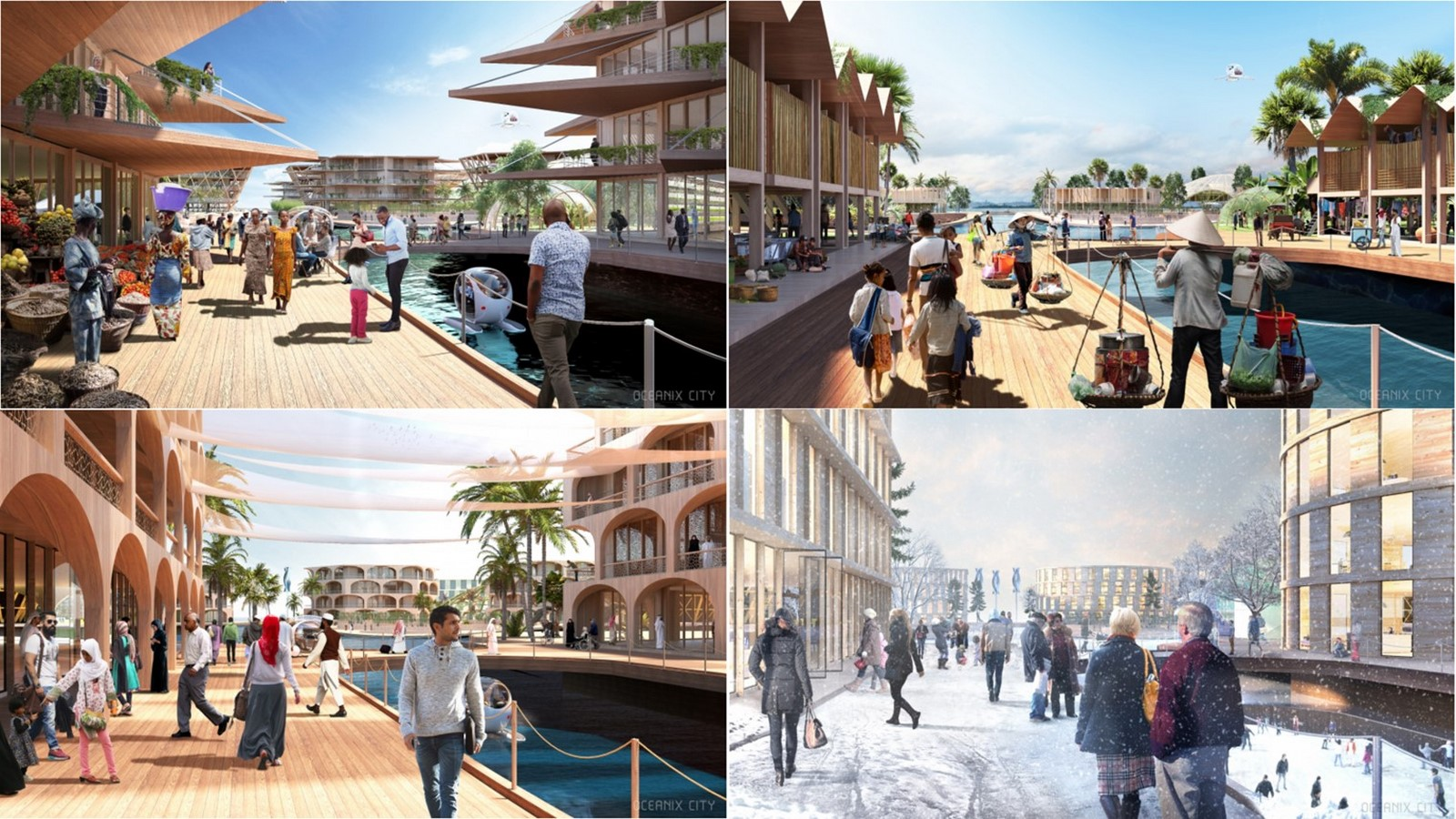 Why 'Oceanix City' by Bjarke Ingels can be considered as a milestone of futuristic architecture - Sheet7