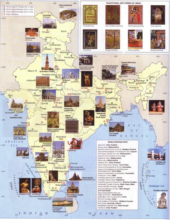 Mapping Culture and Architecture in India