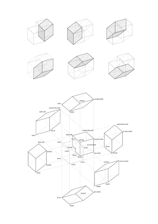 Costa Rica Congress Hall by CAZA: The Hypercube structure - Sheet3