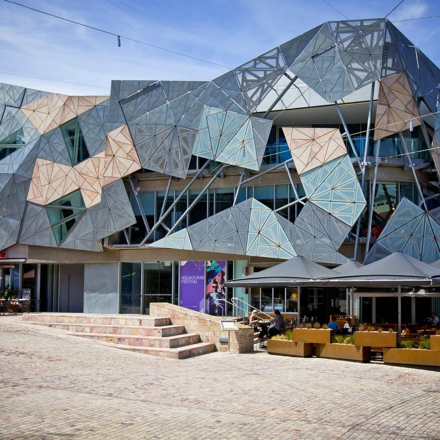 Federation Square, Melbourne- - Sheet2