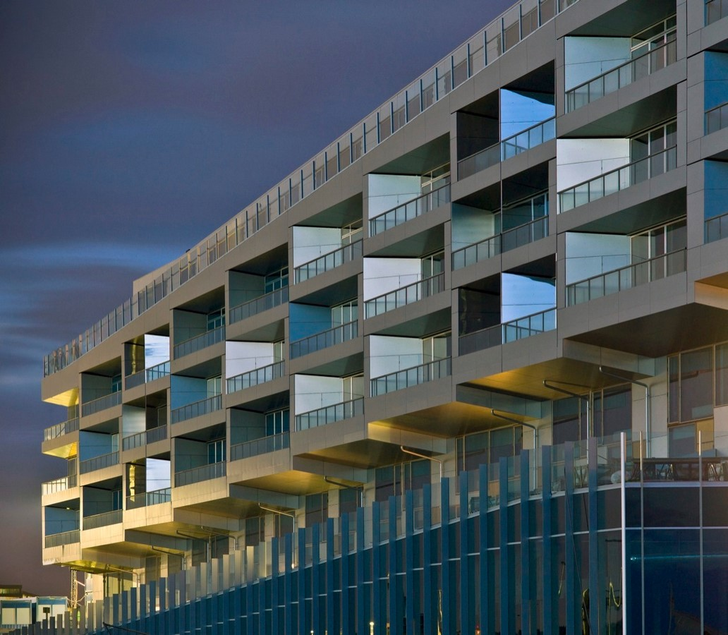 8 House by Bjarke Ingels: The bow-shaped building - Sheet4