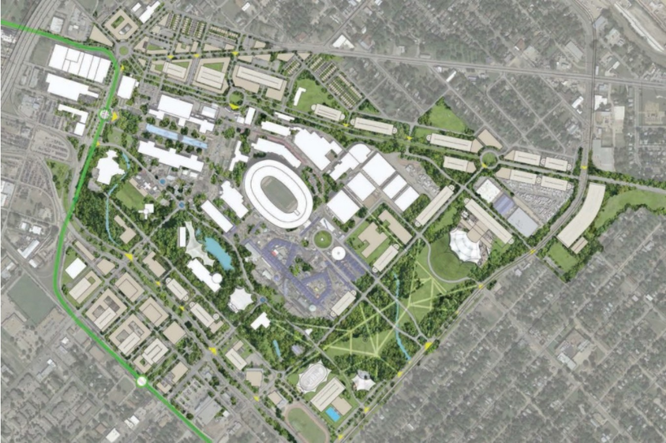 New Transformation of Fair Park in Dallas to be designed by Studio-MLA - Sheet4