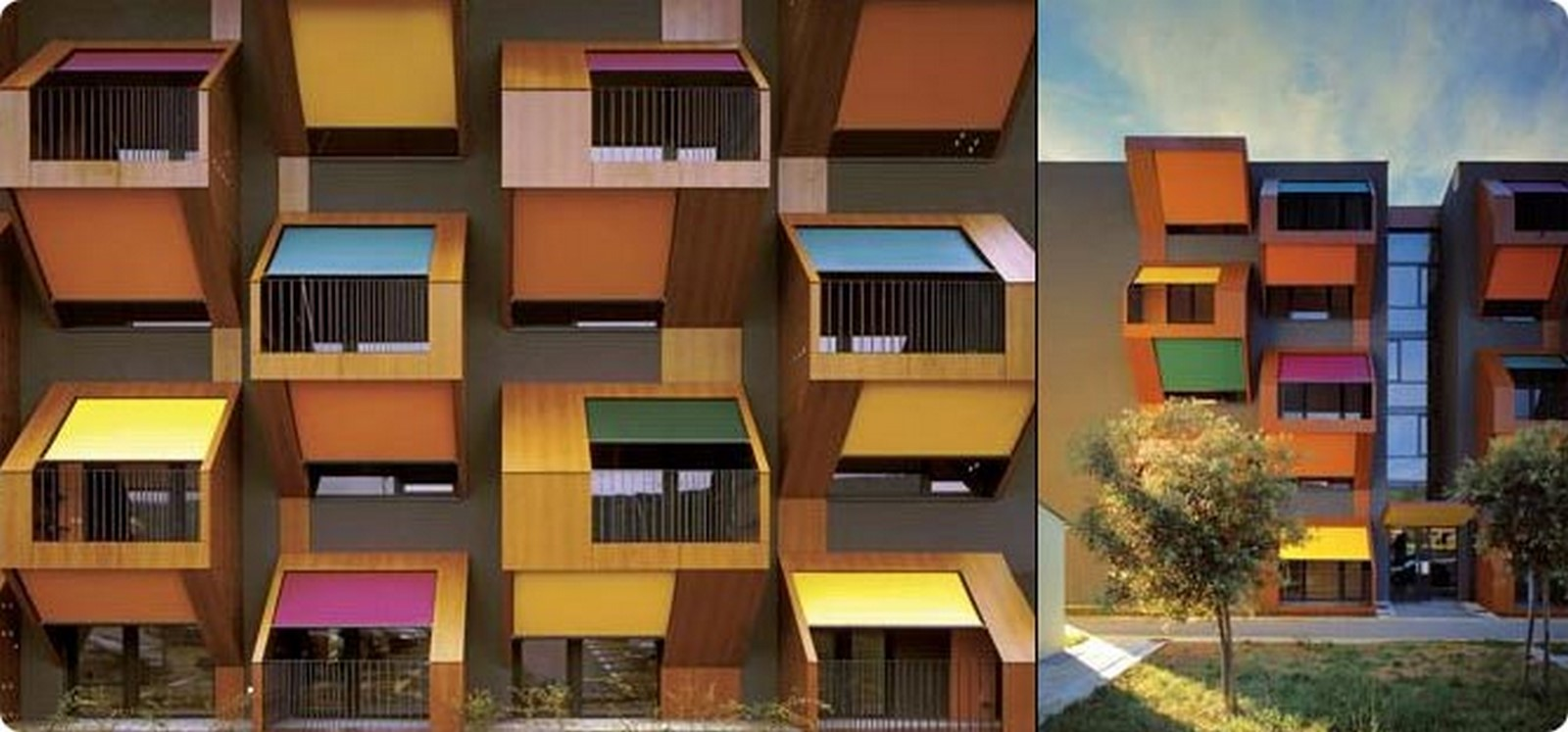10 Examples of unique balcony architecture - Sheet2