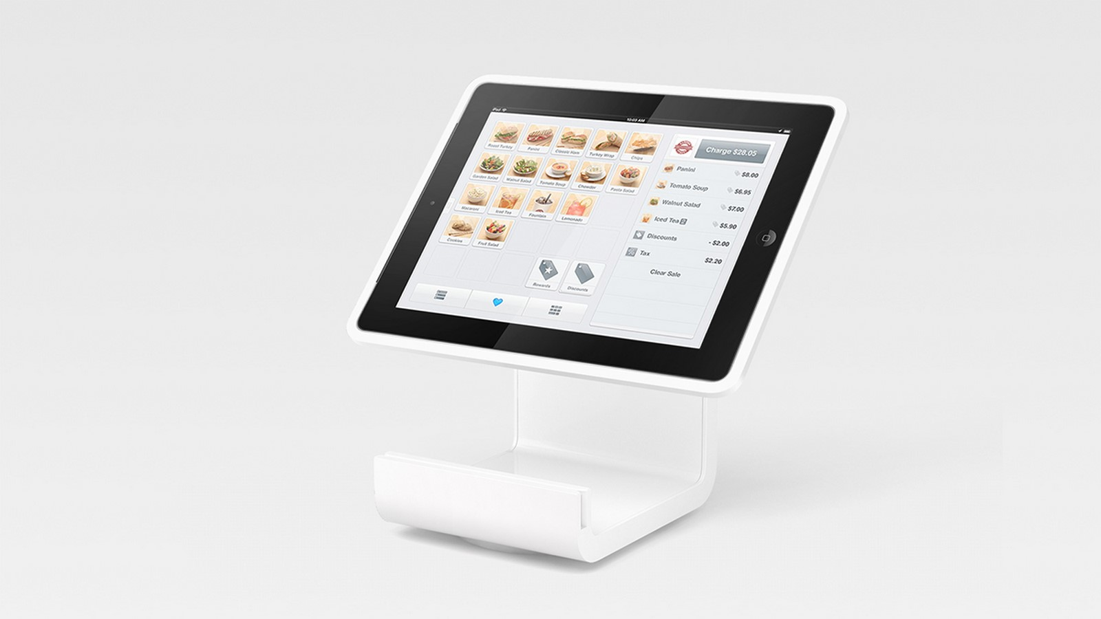 Square Stand + Reader - Sheet1