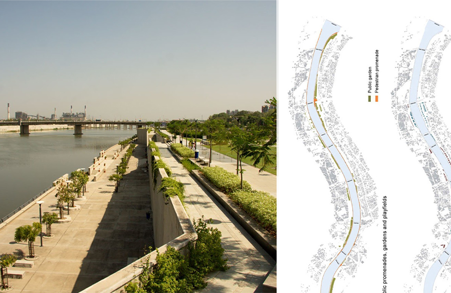 Sabarmati Riverfront Development by Dr. Bimal Patel: A Tale of Urban Transformation