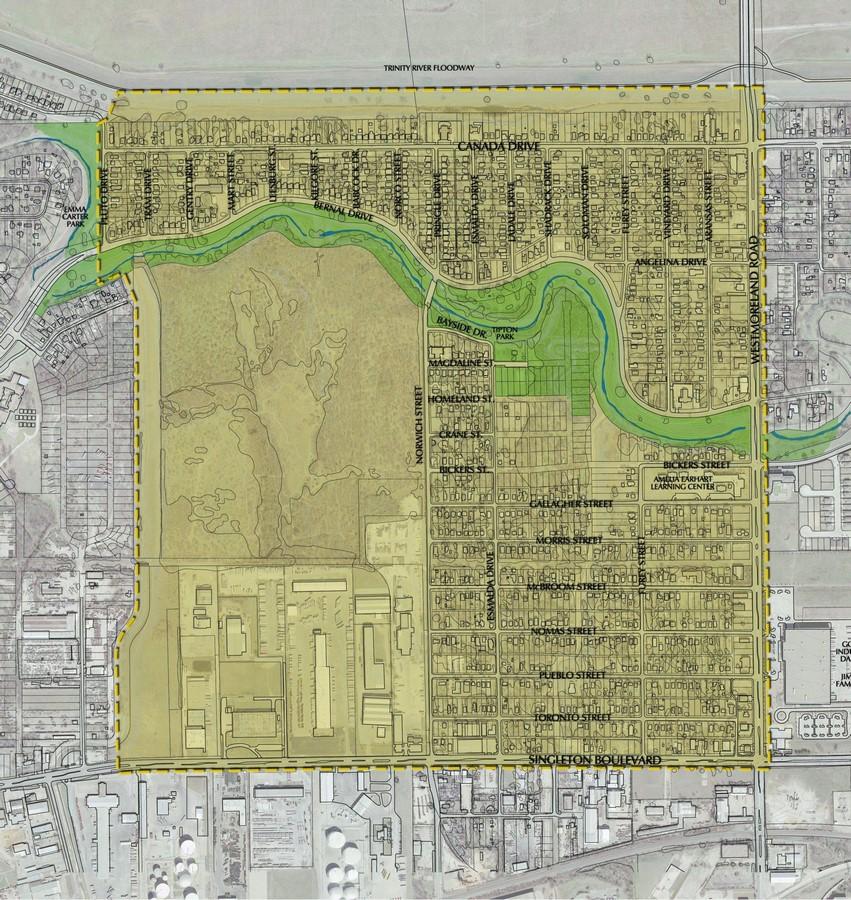Westmoreland Heights Neighborhood Master Plan - Sheet1