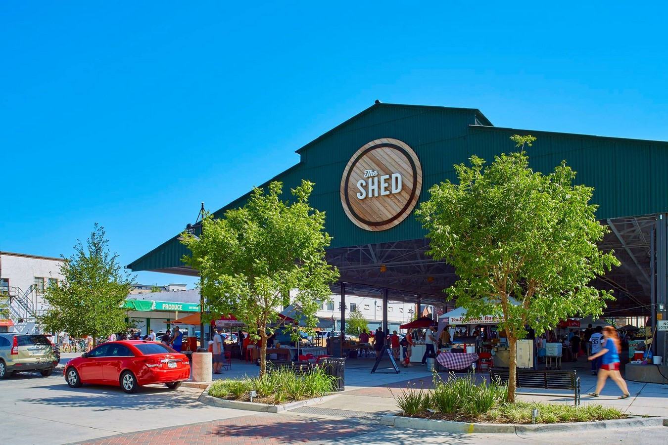 Dallas Farmers Market Streetscape - Sheet3