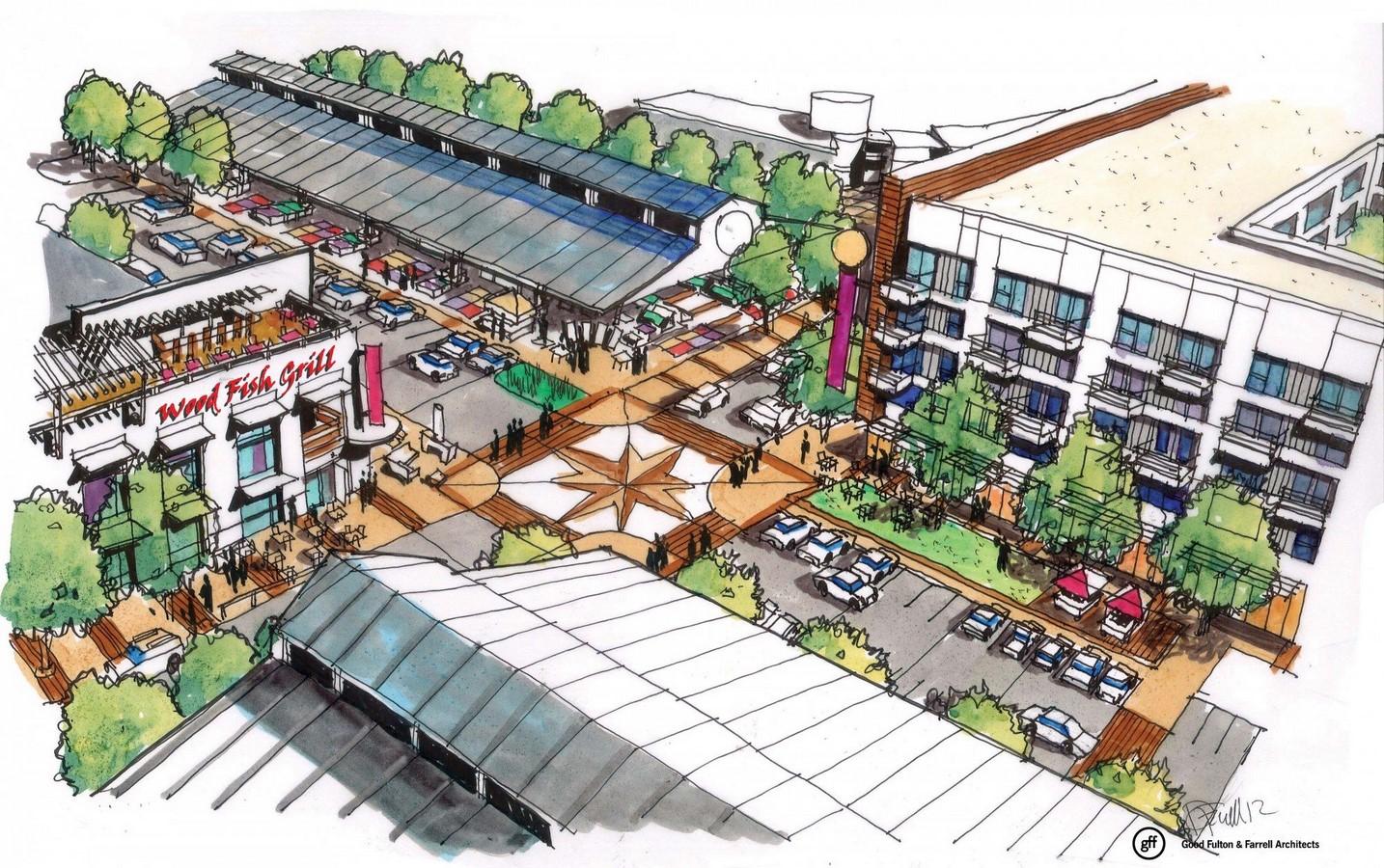 Dallas Farmers Market Streetscape - Sheet6