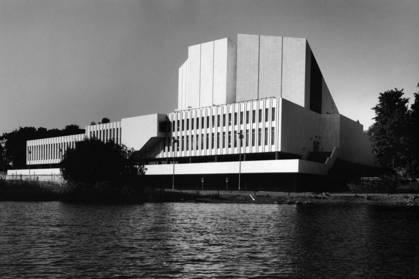 Finlandia Hall by Alvar Aalto: Celebrating Light and Nature - Sheet1
