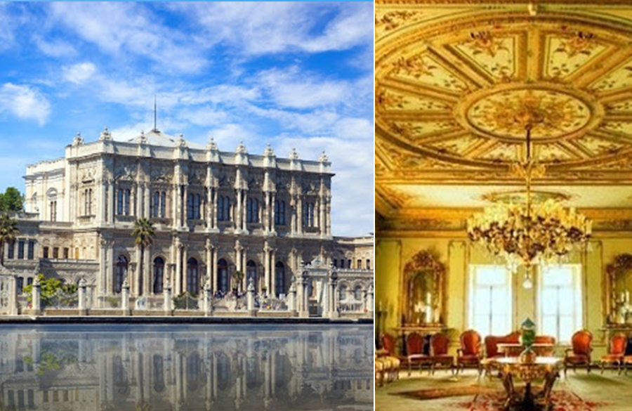 Dolmabahçe Palace by Mihran Mesrobian: The flamboyant Palace
