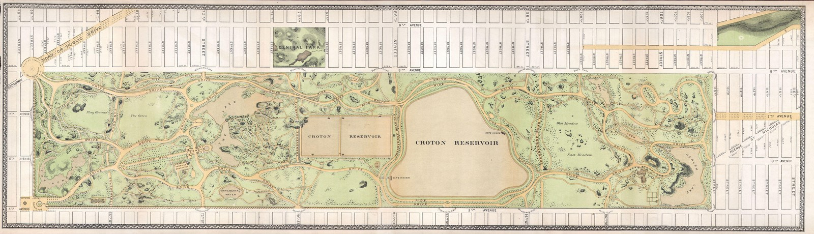The sustainable and cultural significance of Central Park on New York -Sheet5