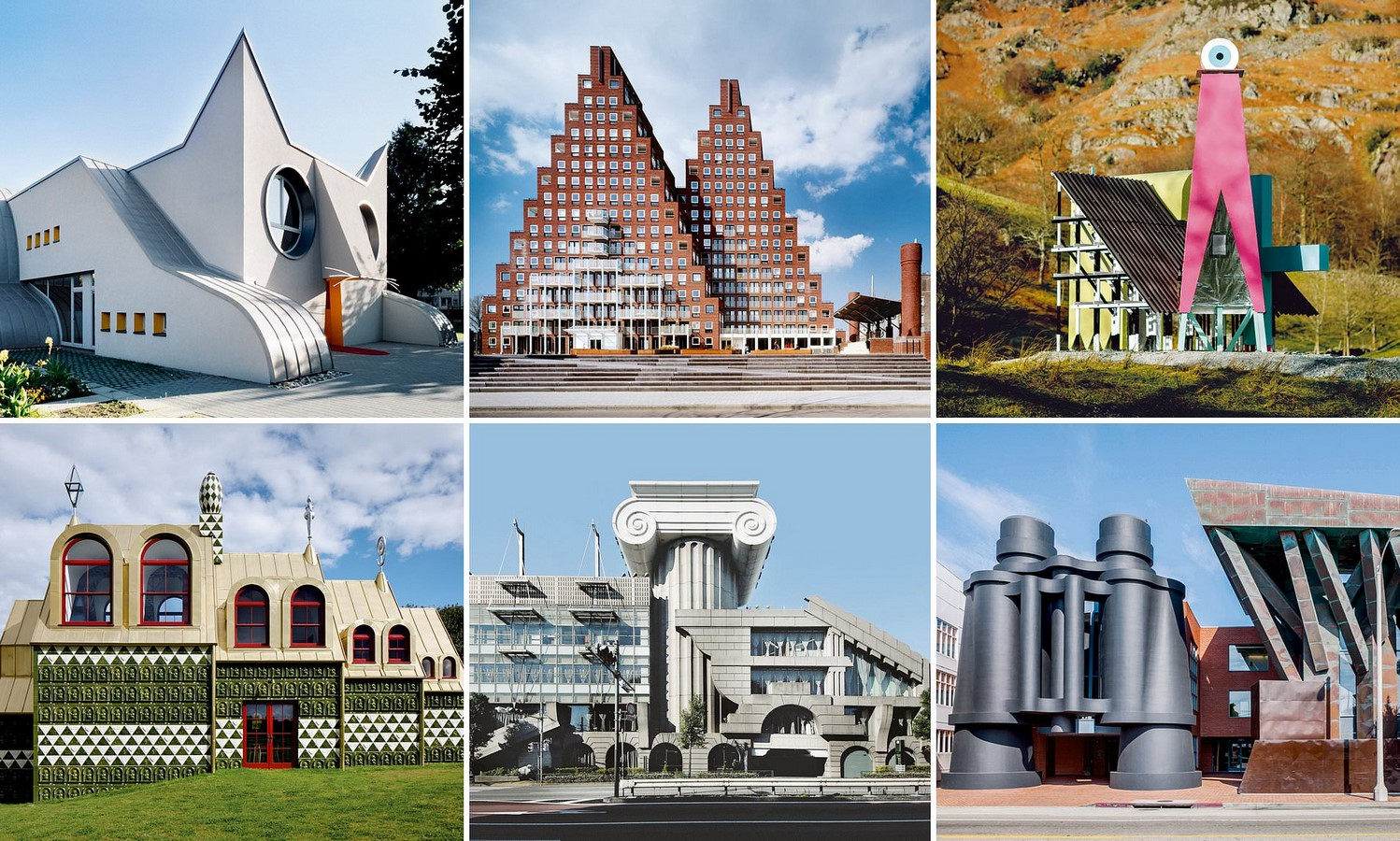 The Origin of Post-Modernist Architecture