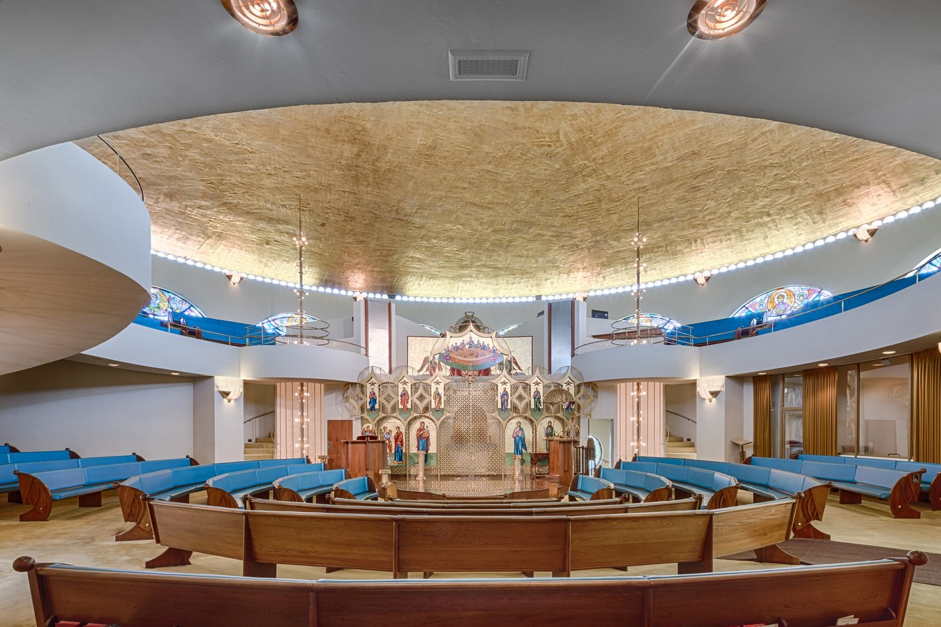 Annunciation Greek Orthodox Church in Wauwatosa, Wisconsin by Ar. Frank Llyod Wright - Sheet1