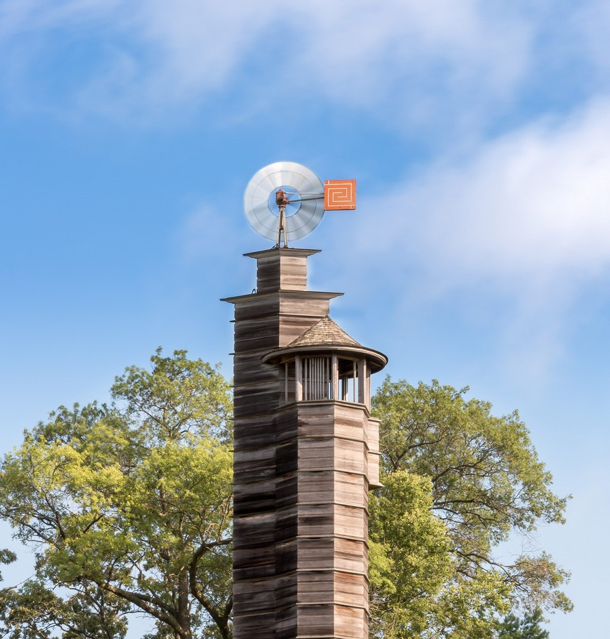 Romeo and Juliet water tower, Wisconsin by Ar. Frank Llyod Wright - Sheet1