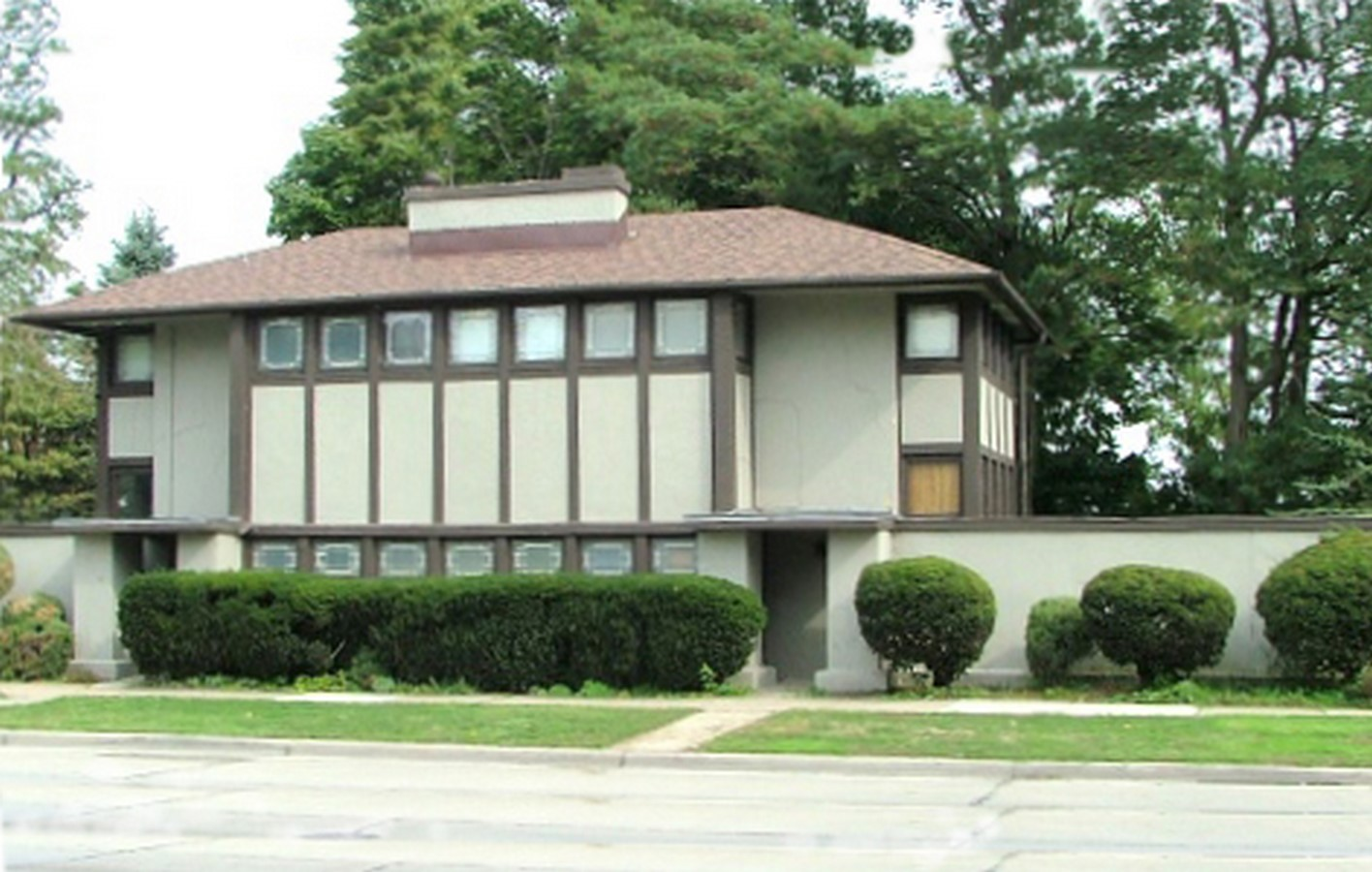 Thomas P Hardy House in Wisconsin, Racine by Ar. Frank Llyod Wright Sheet2