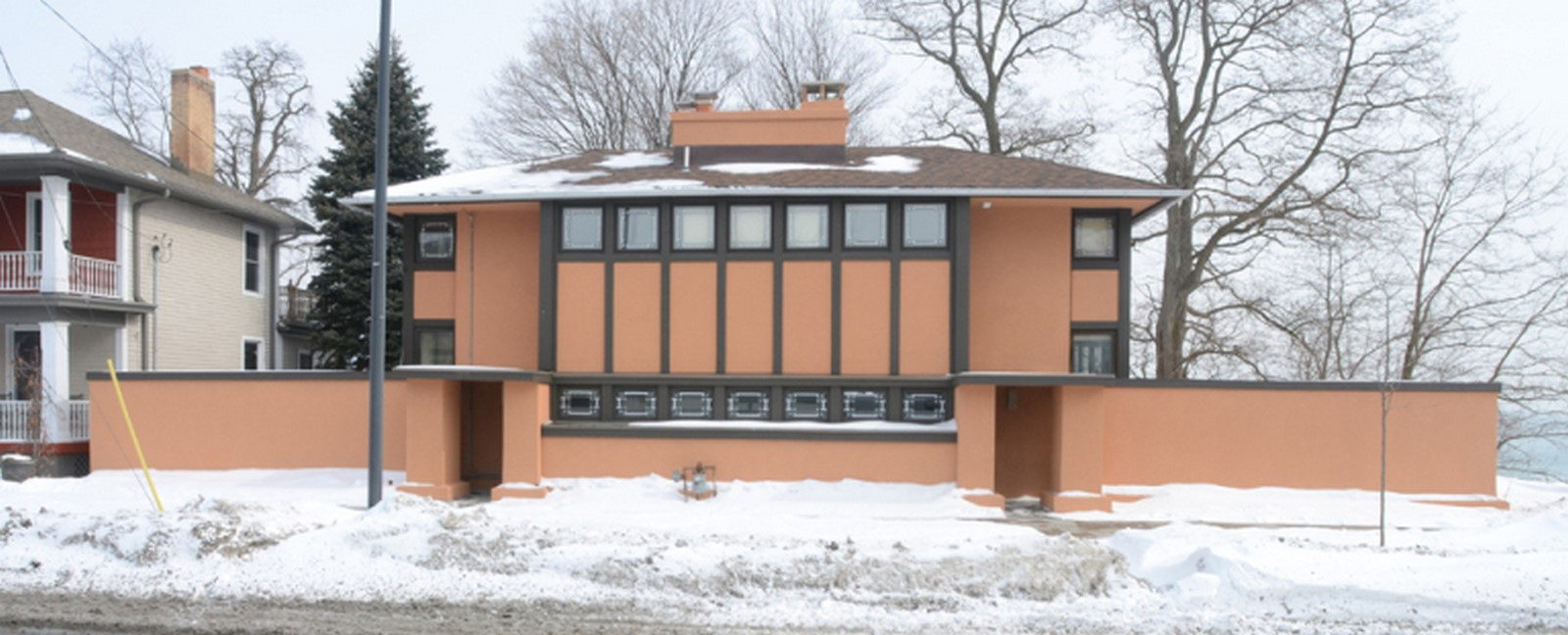 Thomas P Hardy House in Wisconsin, Racine by Ar. Frank Llyod Wright Sheet3