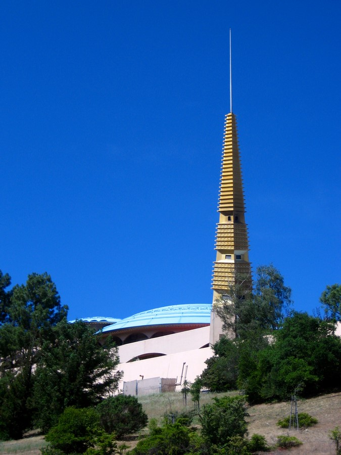 Marin County Civic Center in San Rafael, California by Ar. Frank Llyod Wright - Sheet2