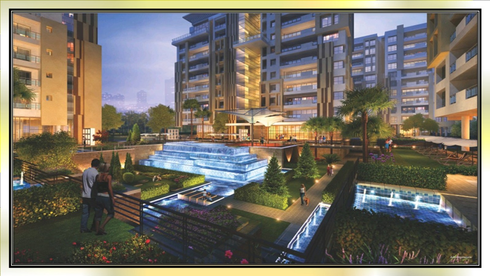 Avenue 77 in Surat by Hafeez Contractor - Sheet1