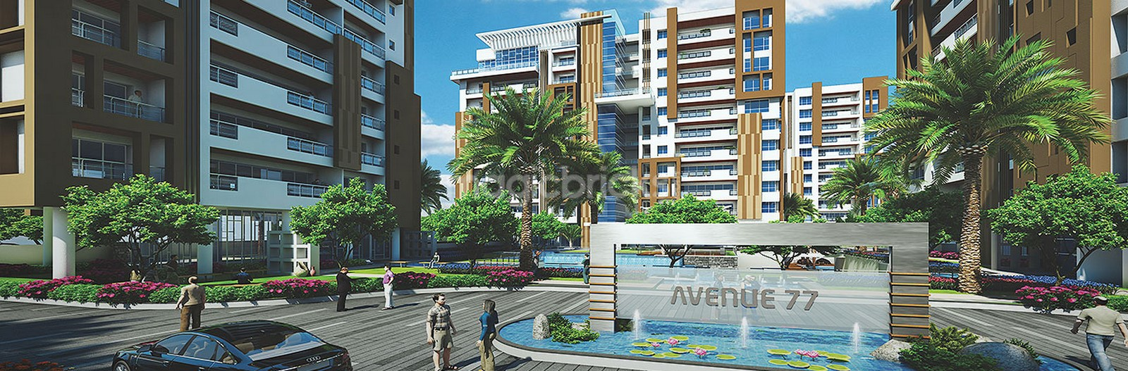 Avenue 77 in Surat by Hafeez Contractor - Sheet2