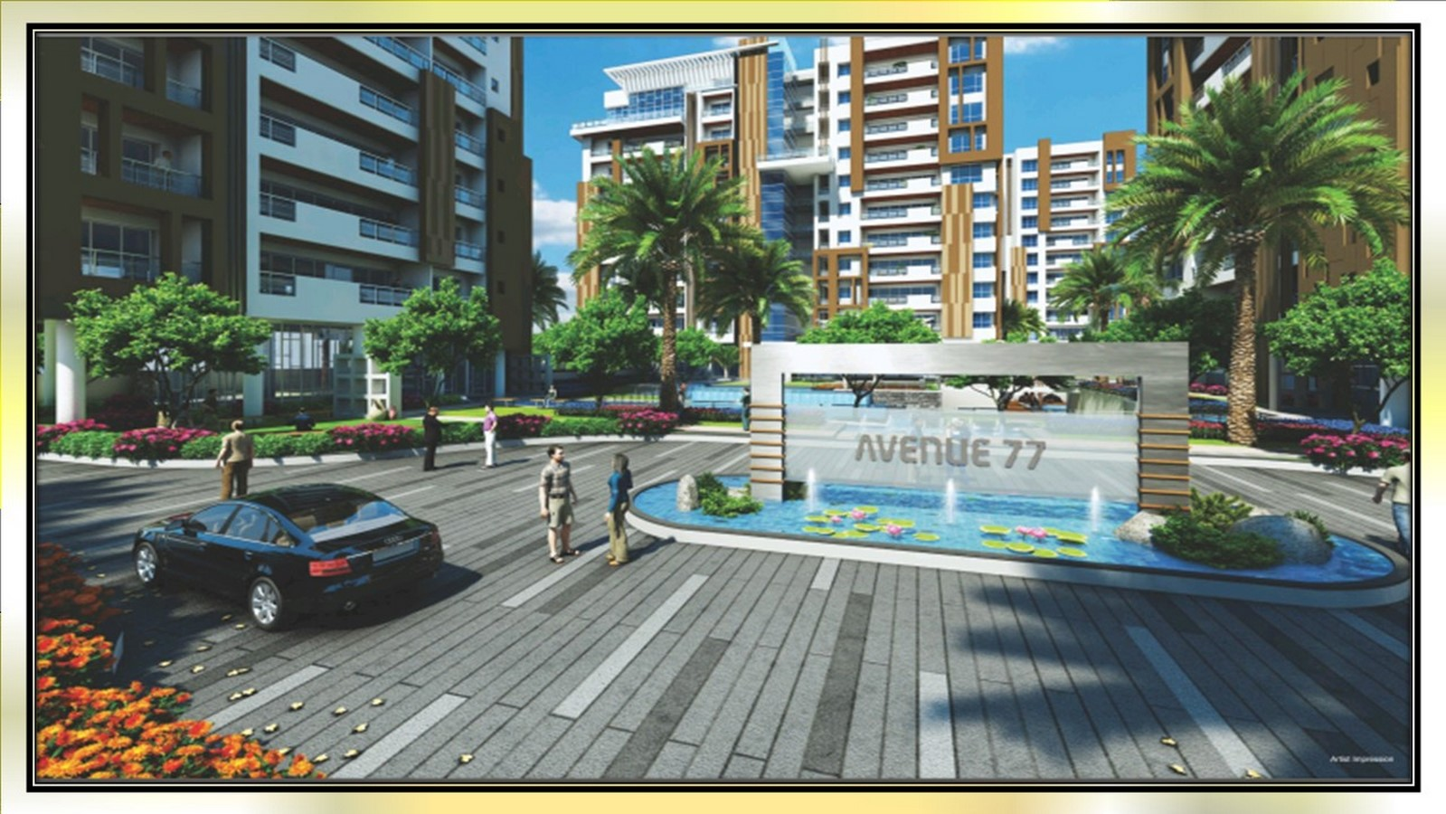 Avenue 77 in Surat by Hafeez Contractor - Sheet3